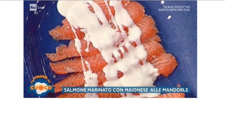 la prova del cuoco salmone