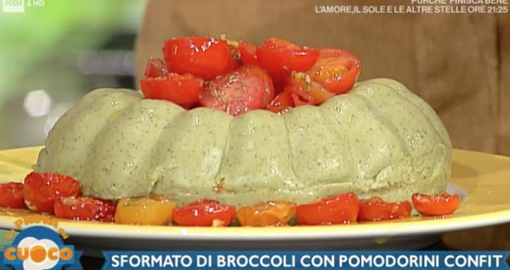 sformato di broccoli la prova del cuoco