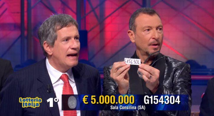 lotteria italia 2019 biglietti amadeus soliti ignoti