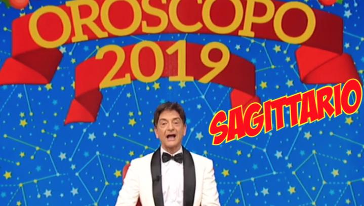 oroscopo sagittario 2019
