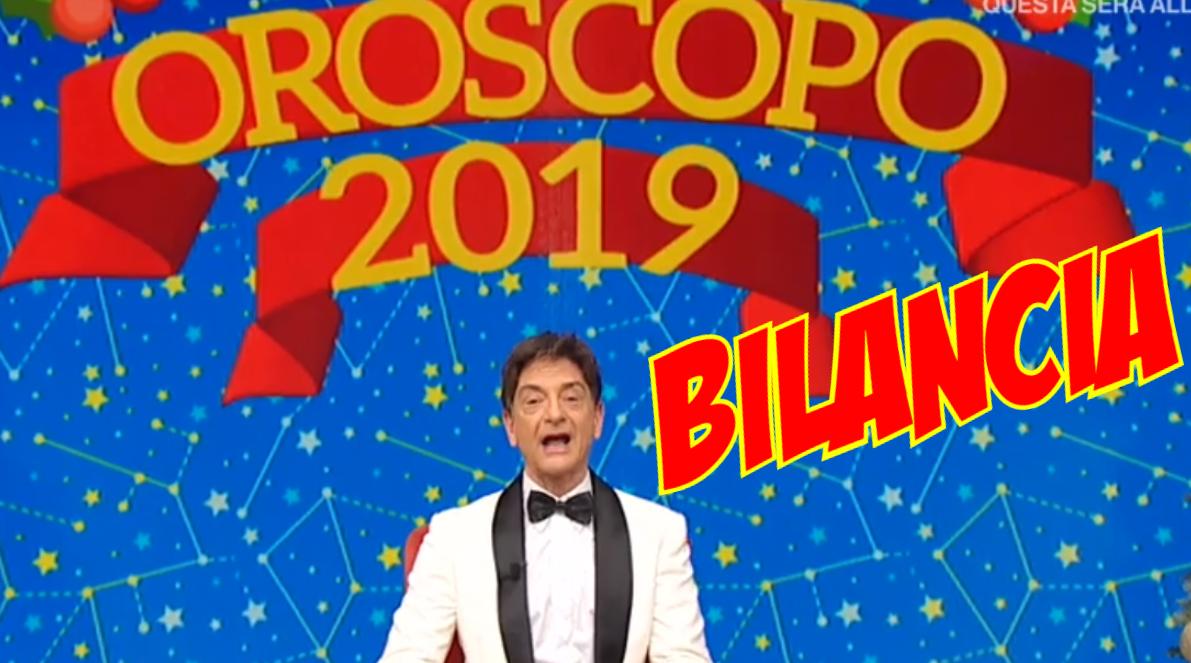 oroscopo 2019 bilancia