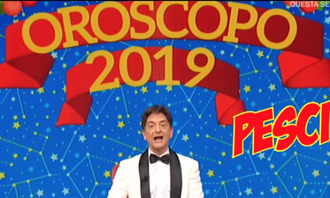 paolo fox oroscopo 2019
