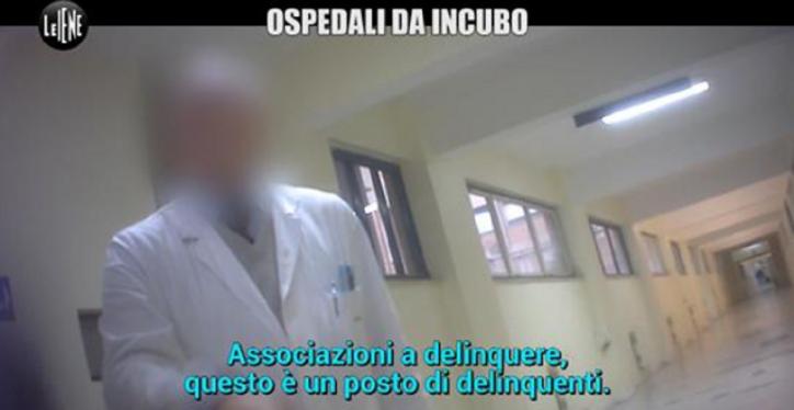 ospedali calabria 'ndrangheta le iene