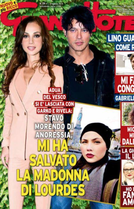 Adua Del Vesco confessa che l'anoressia la stava uccidendo, da tempo ha chiuso con Gabriel Garko (Foto)