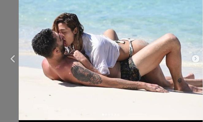 Soleil Sorge e Jeremias Rodriguez esplode la passione all'Isola dei famosi e le foto diventano hot