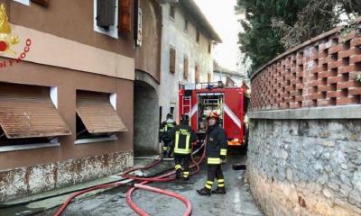 bimbo 5 anni morto incendio casa