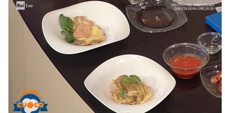 ravioli carciofi la prova del cuoco