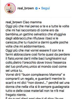 Lettera Compleanno Mamma.Emma Marrone Commuove Con La Lettera Alla Mamma Per Il Suo