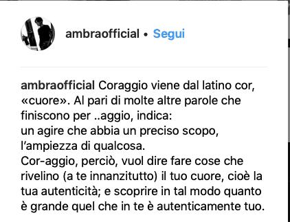La dedica di Ambra Angiolini  ad Allegri dopo la vittoria della Juventus (Foto)