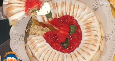 torta fragole la prova del cuoco