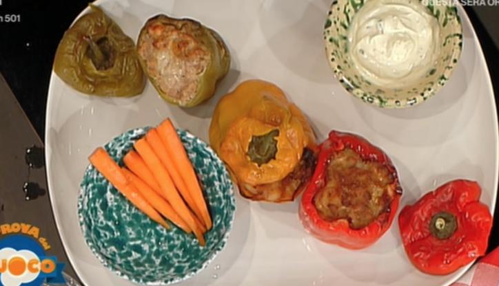 ricette la prova del cuoco peperoni