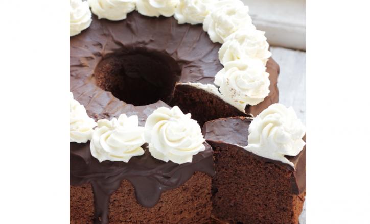 chiffon cake ricetta Natalia Cattelani