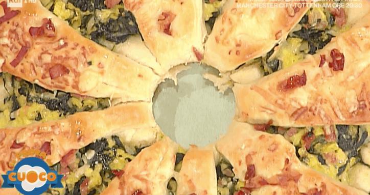 corona di pasqua la prova del cuoco