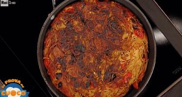 la prova del cuoco Marisa laurito
