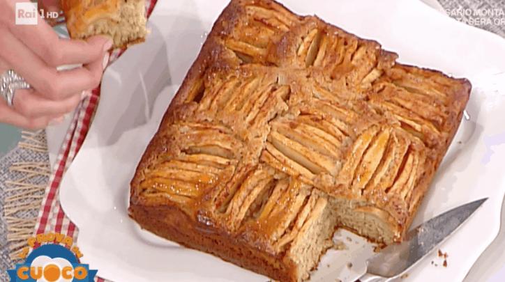 la prova del cuoco torta di mele