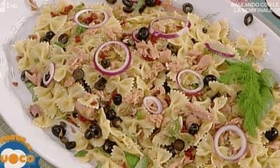 pasta fredda Luisanna Messeri la prova del cuoco