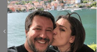 salvini e Francesca nessuna crisi