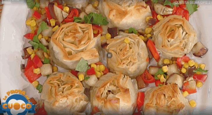 saccottini in pasta fillo la prova del cuoco