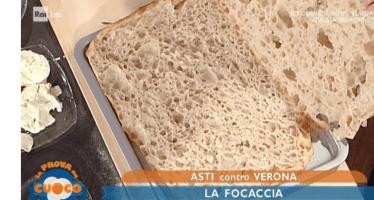 ricette Renato bosco la focaccia ripiena