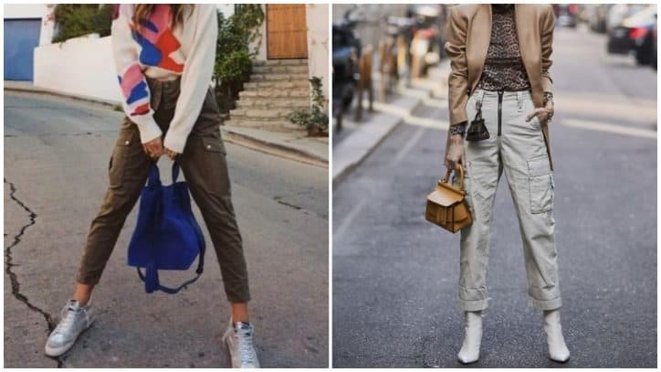 pantaloni cargo primavera estate 2019