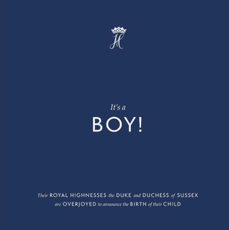 Meghan Markle ha partorito, è nato il royal baby: l'annuncio dei duchi di Sussex (Foto)