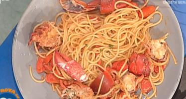 spaghetti all'astice la prova del cuoco