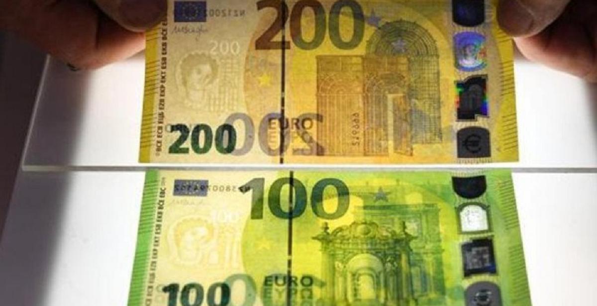 nuove banconote 100 200 euro