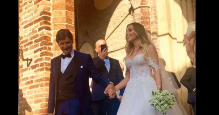 Auguri Matrimonio Ex Amica : Gloria patrizi ha sposato filippo braghieri il matrimonio dell ex