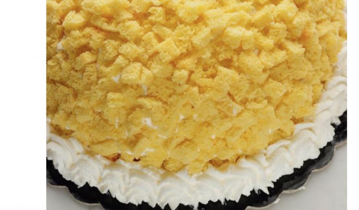 online store d0d64 5825c Torta mimosa all'ananas, la ricetta di Natalia Cattelani per ...