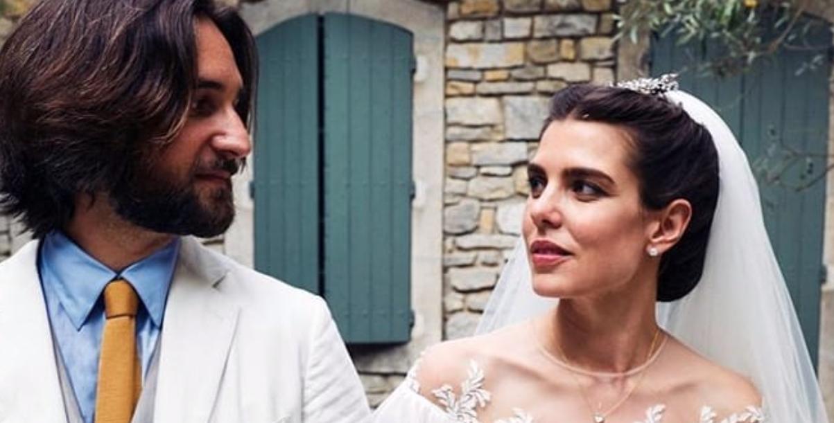 Charlotte Casiraghi abito da sposa