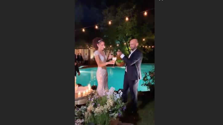 Matrimonio da favola per la modella Paola Turani