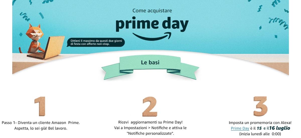 Amazon Prime Day 2019 date: quando iniziano offerte e sconti