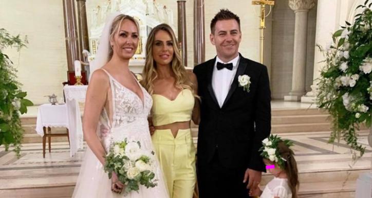 Totti show al matrimonio della cognata, il video in chiesa è esilarante