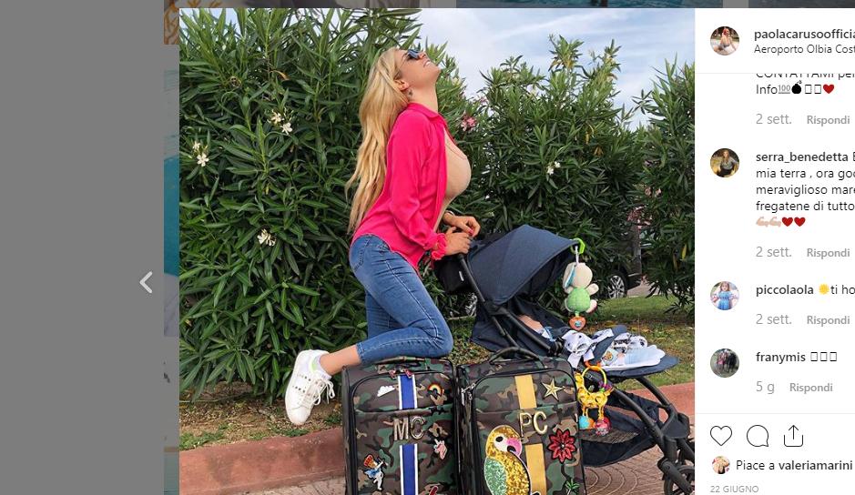 Raffaella Fico e l'ex di Paola Caruso stanno insieme? Arriva la reazione della Bonas