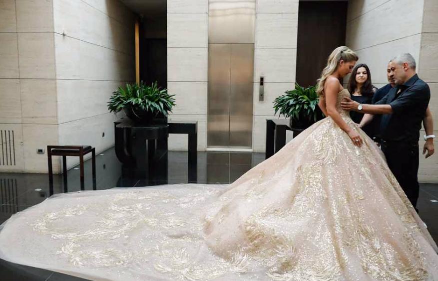 Scarpe Sposa Elie Saab.Matrimonio Da Vera Favola Per Elie Saab Jr Il Figlio Dello
