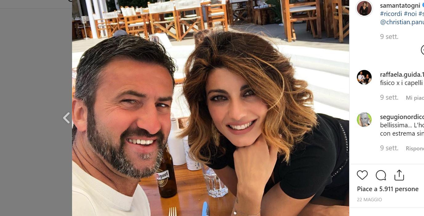 Samanta Togni e Christian Panucci amore al capolinea: le parole della ballerina