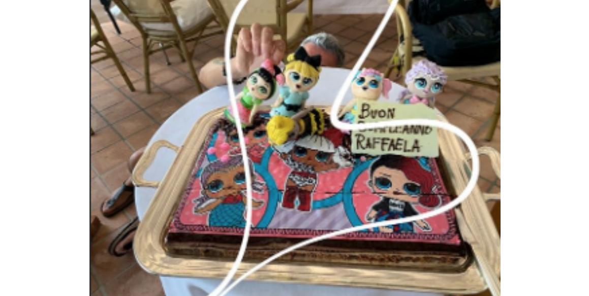 Eros Ramazzotti e Marica Pellegrinelli festeggiano il compleanno della piccola Raffaela (Foto)