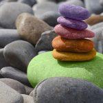 come colorare pietre mare