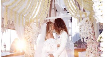 abito da sposa Heidi klum