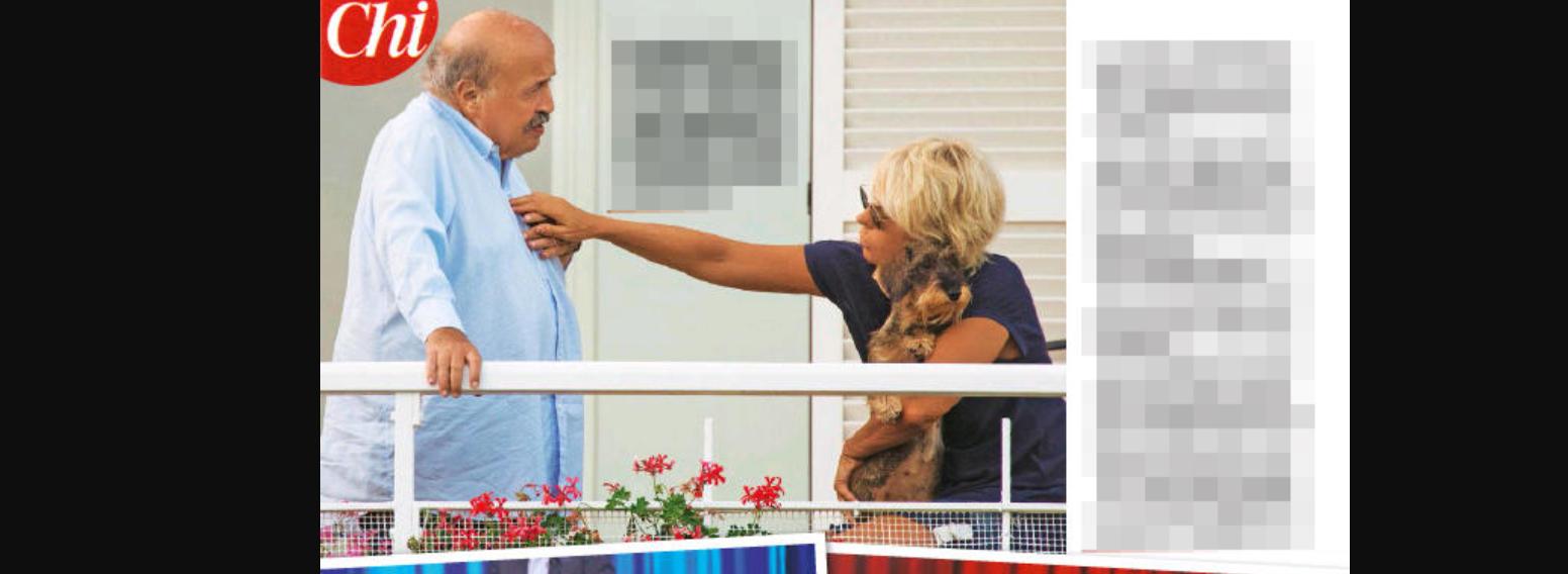 Maurizio Costanzo e Maria de Filippi cartoline dall'estate e dedica d'amore a sua moglie (FOTO)