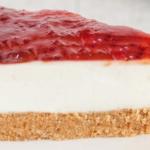 La deliziosa ricetta della cheesecake Philadelphia e confettura di lamponi
