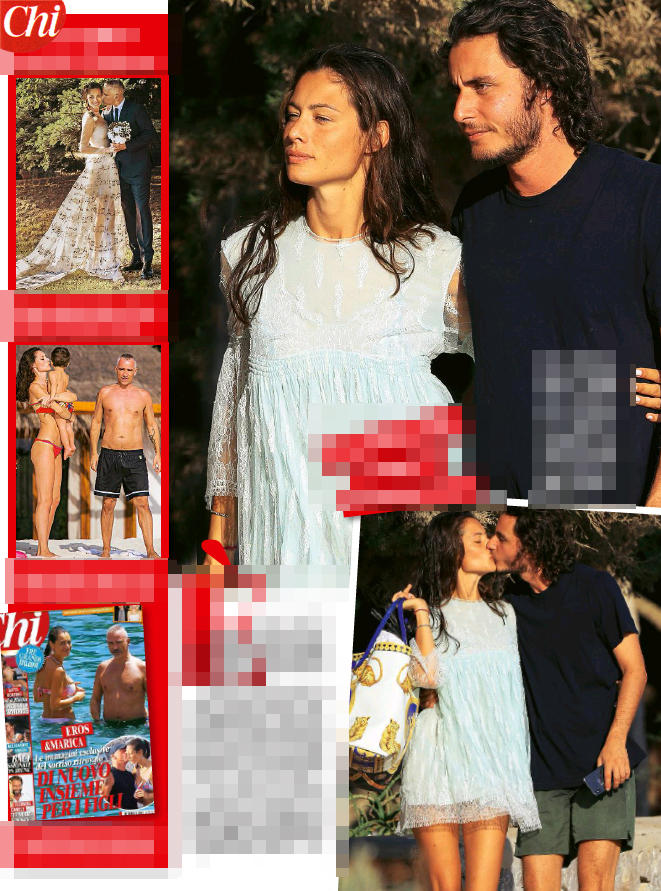 Marica Pellegrinelli dimentica Eros: per lei l'estate si tinge d'amore al fianco di Charley Vezza (FOTO)