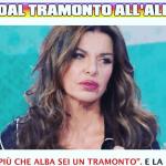 Alba Parietti e l'opinionista