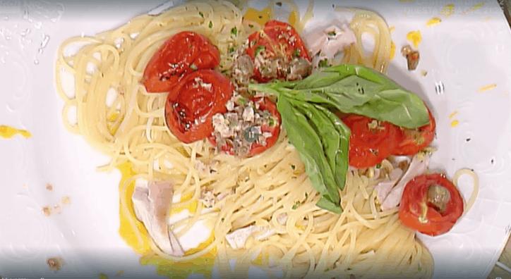 ricetta la prova del cuoco spaghetti al tonno