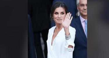 letizia ortiz vestito bianco