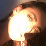 Miriam Leone nuovo colore di capelli