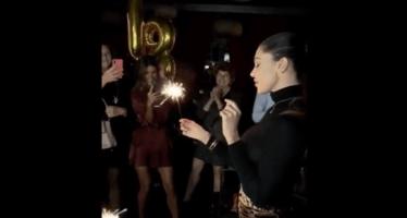 Belen Rodriguez festa di compleanno