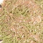 la prova del cuoco spaghetti verdi