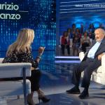 A Domenica IN Maurizio Costanzo stuzzica Mara Venier per la mancata partecipazione di Alberto Urso al programma