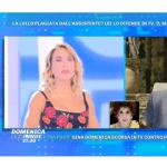 Barbara d'Urso a Domenica Live sul caso Lollobrigida saluta Mara Venier e la difende dalle accuse di Rigau
